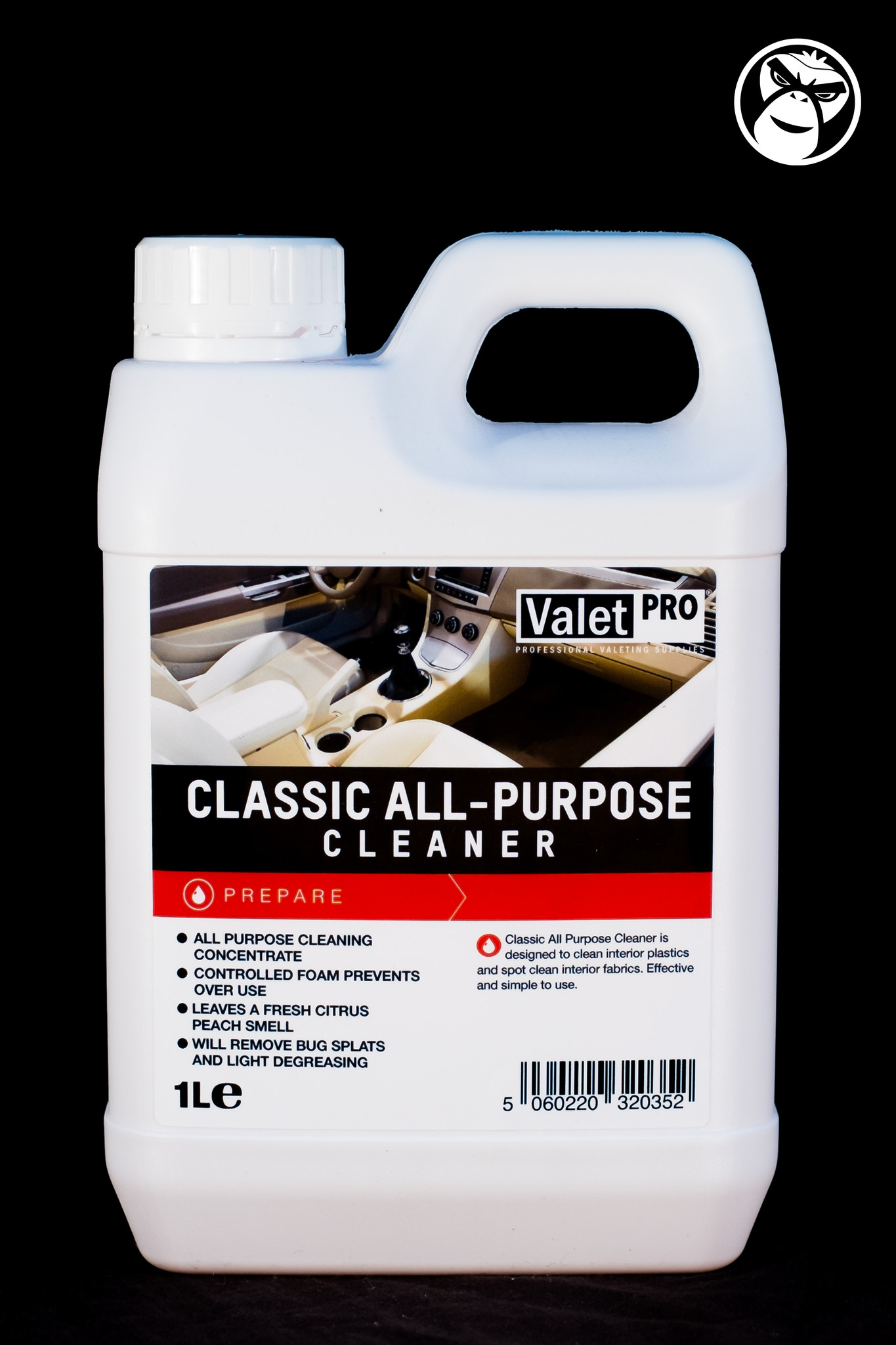 Valet Pro Classic All Purpose Cleaner 1l Detail Monkey
