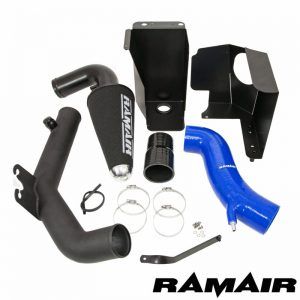 Ramair Fiesta ST180 Hose Kit Hard Pipe Blue